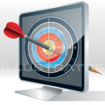 ecran clble-target screen-pantalla objetivo